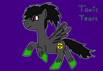 Toxic Tears drawing by Staticpegasus