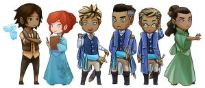 Stormlight Archive Chibis by ex-m