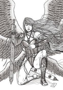Commission Angel Transformation 05 of 05 by leandro-sf