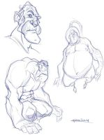 Sketches 1 by PReilly