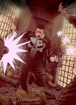 The Punisher by Fuacka