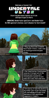 Undertale ULTRA Pacifist Prologue (SPOILERS!) by Spaztique