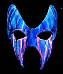 Weeping Masquerade Mask by The-Nanette-O