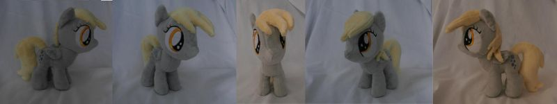 Filly Derpy II Plushie [SOLD] by Uminohoshi