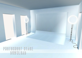 Photoshoot Stage - MMD Download by Shiremide1