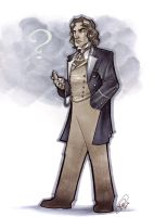 8th Doctor by AdamWithers