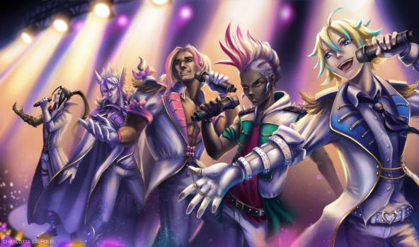 League of Legends Popstars! - Boyband Version by CharlottaBavholm