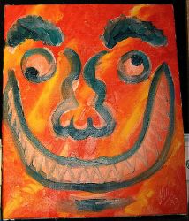 Smile! ('Doodle' No. 1) by MichaelVance-ART