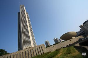 Albany's Empire State Plaza by AlexandreGuilbeault