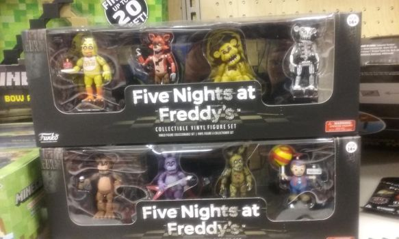 Five nights at freddys! by DJ-rainbine