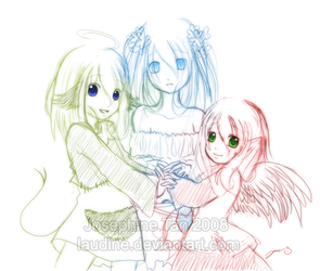 Doodle: My Sorell girls by Laudine