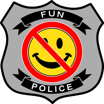Fun Police Badge by topher147