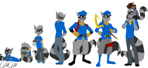 Sly Cooper/timeline by Mimisia2367