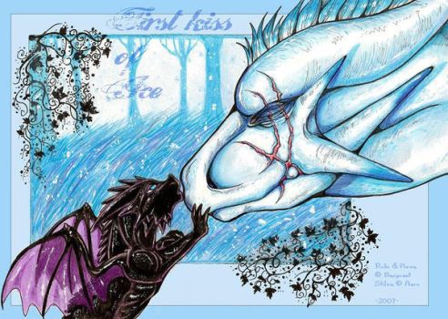 First kiss of Ice by Barguest