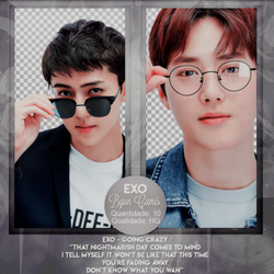 EXO #18 | PNGS by fairyixing