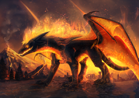 Commission: Inferno by Kaarhai