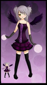 gothic lolita colored by bubblystar