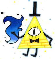 Gravity Falls - Bill Cipher by Dreaming-Roses