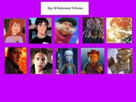 My Top 10 Reformed Villains by GalaxyGirl5