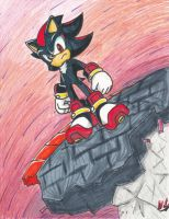 Shadow the hedgehog (Sonic forces inspired) by Will-the-adventurer