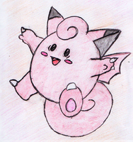 35 - Clefairy by JacobMace