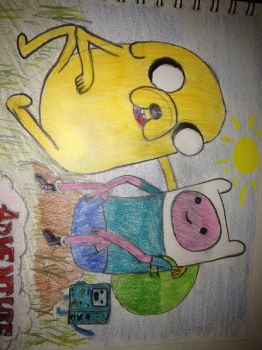 Finn and Jake (2) by TehDeKlan