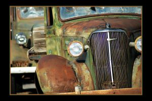 Lights on Antique Chevy Trucks by houstonryan