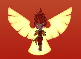 Gift for Nicneven - Jean Grey by OttoArantes