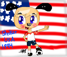World cup mascots-striker by migetrina4ver2018