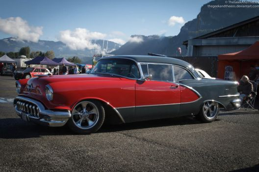 1956 Oldsmobile Hot Rod by TheGeekAndTheEOS
