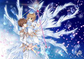 Card Captor Sakura ~ Sakura and Syaoran by jennylizmanga