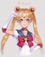 Sailor moon by toastydrawing