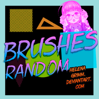 Brushes random by HelenaGrimm