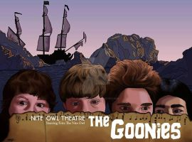 The Goonies by monsterartist