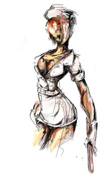 Silent Hill 2 Nurse by Agacross