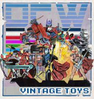 DFW Vintage Toys by Art-by-Jilani