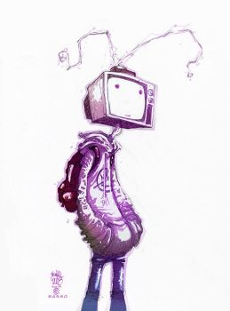 TV Head by BenBASSO