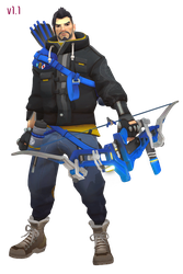 MMD - Hanzo (Casual) Download by Togekisspika35