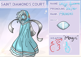 Cat's Eye Aquamarine by PyxisFlame