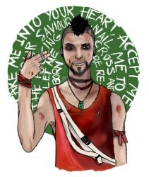 Vaas redraw by QueenJellybeany