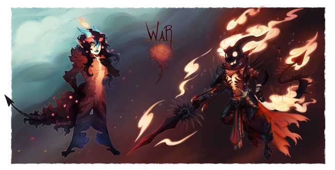{Halloween browbird} War by AgentCorrina