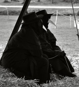 Plague Doctors by Skia