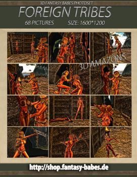Cover Foreign Tribes 3D Photoset by FantasyBabes