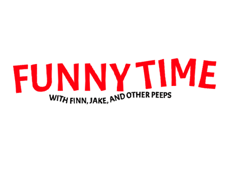 Funny Time with Finn, Jake, and Other Peeps logo by jared33