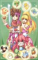 Secret of Mana by KrazyD