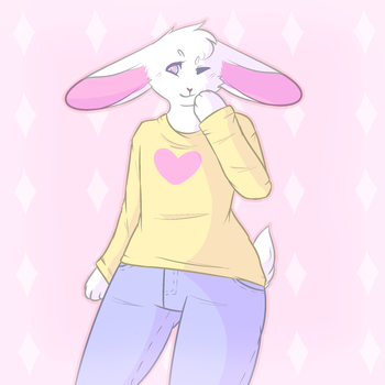 bunny boy by yifftoy