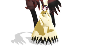 [TDA] Mimikyu PokeGhoul DL by fagonstar