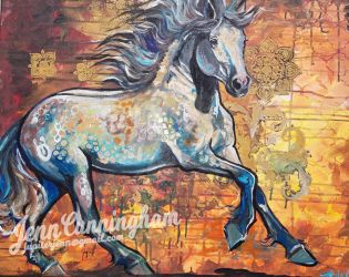 Andalusian Mare by jupiterjenny