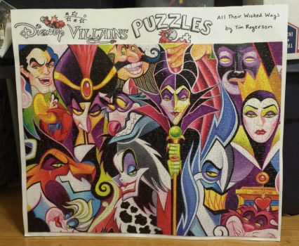 Tim Rogerson's All Their Wicked Ways Puzzle by joshbluemacaw