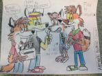 Awsome Foxes by Awsome Artist by WolfGang-Jake
